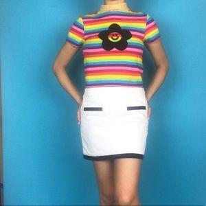 Dresses & Skirts - 'Oops I Did it Again' white mini skirt